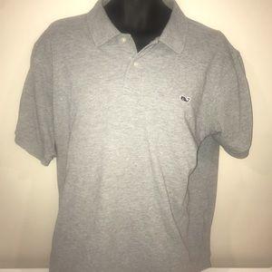 Vineyard Vines men's XL gray polo shirt